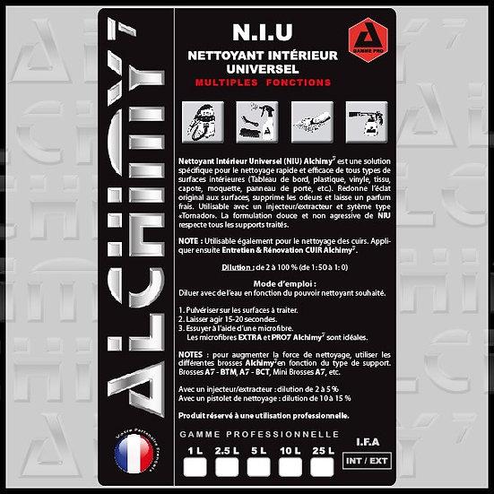 NIU - Nettoyant Intérieur Universel 1L