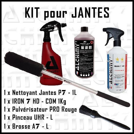 kit pour jantes, jante , alchimy 7, iron7hd