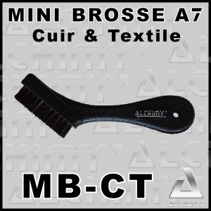 Mini BROSSE A7 Cuir & Textile - MBCT -