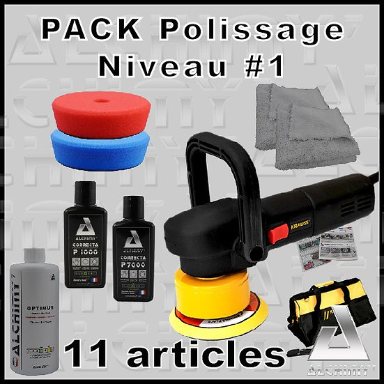 Pack Polissage NIV 1