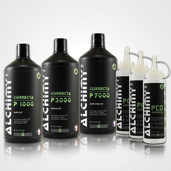 Pack Correcta P1000/P3000/P7000 - 3 x 1 Kg + 3 x PCD