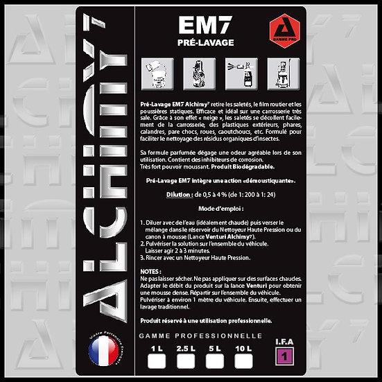 EM7 - Prélavage / Lavage 1L