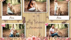 "Mini Séance ""Animaux"""