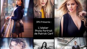 L'atelier photo portrait de Patrick Cerf