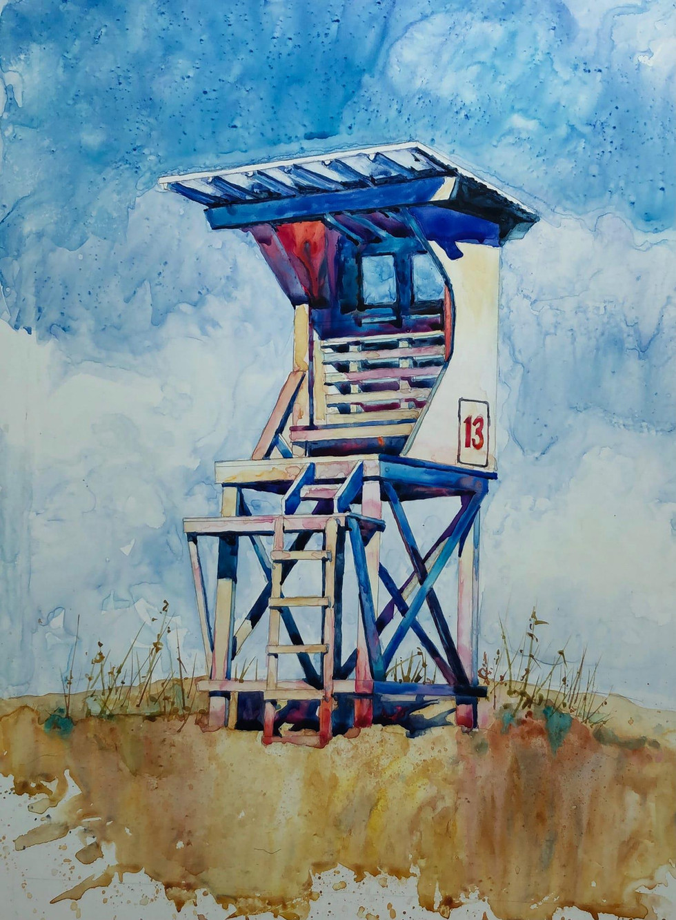 Lifeguard Stand #13