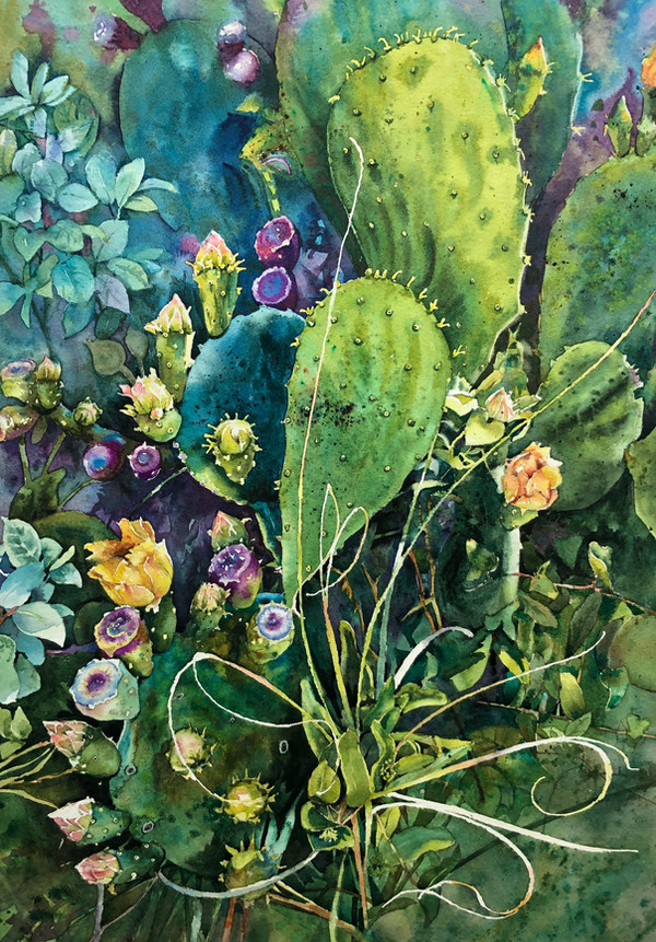 Radiant Cactus
