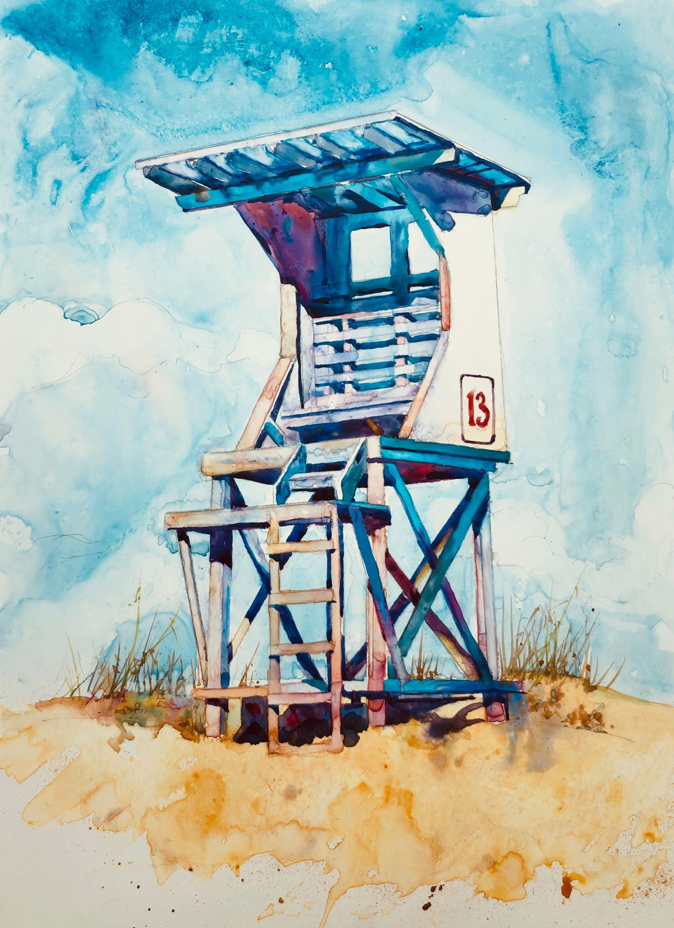 Lifeguard Stand (SOLD)