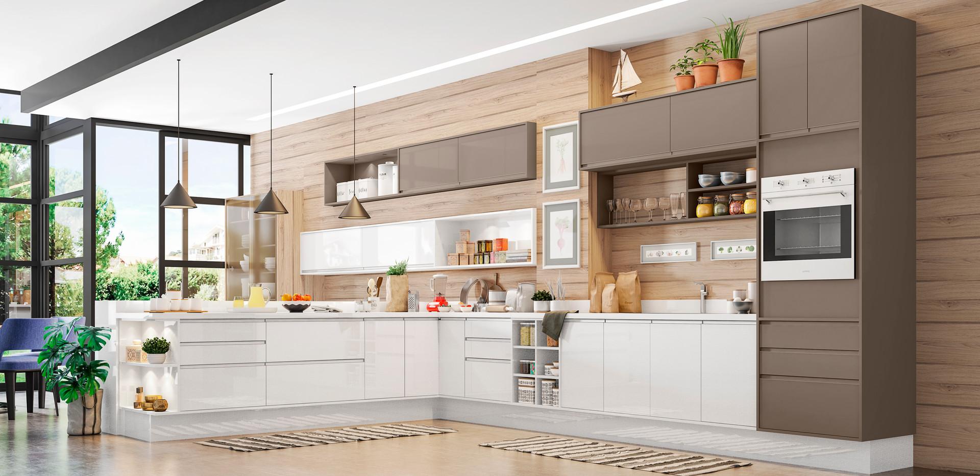 Cozinha 03 -Painel e aereos Gianduia Bri
