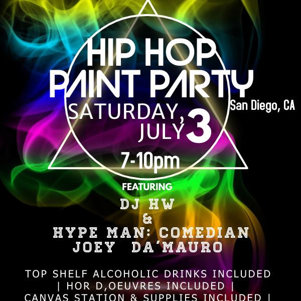 HIP HOP PAINT PARTY