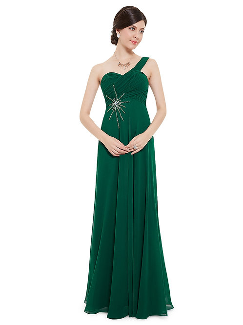 One Shoulder  Prom Chiffon