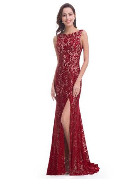 Elegant Sleeveless Long Evening Dress