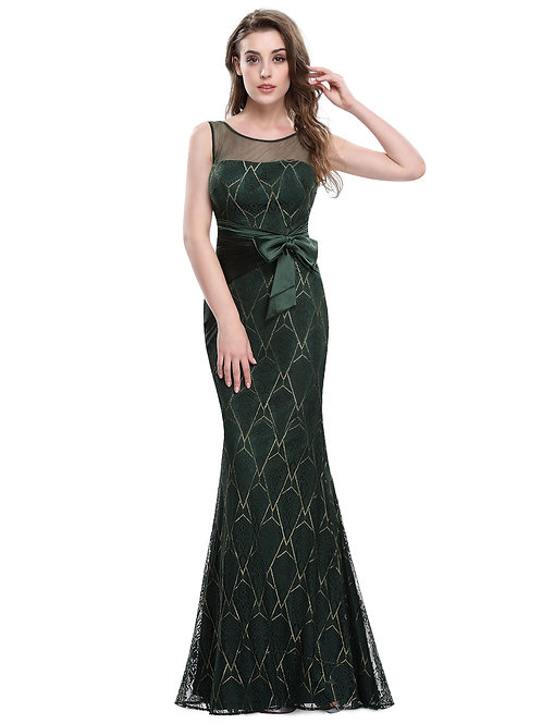Elegant Sleeveless Long Evening Dress