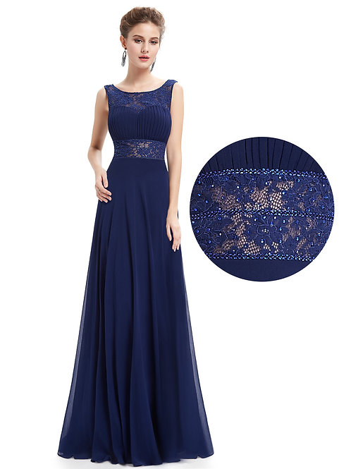 Elegant Long Evening Party Dress