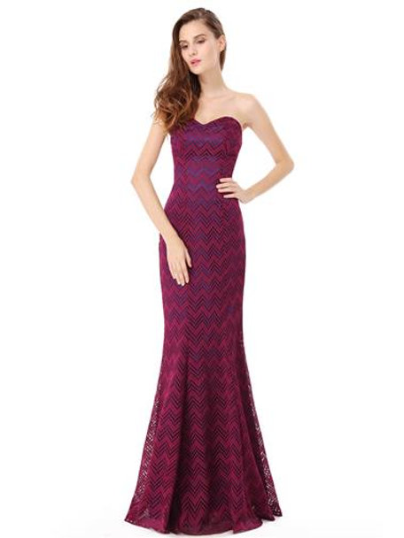 Strapless Elegant Long Fishtail