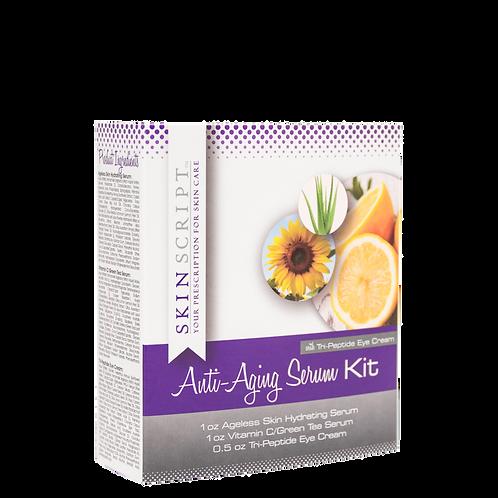 Anti-Aging Serum Kit with Tri-Peptide Eye Cream