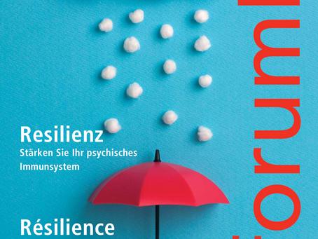 """Themenschwerpunkt """"Resilienz"""" im forumR der Rheumaliga Schweiz"""