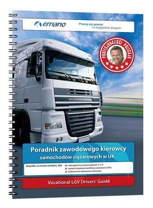 Kat. C - Poradnik zawodowego kierowcy samochodów ciężarowych w UK