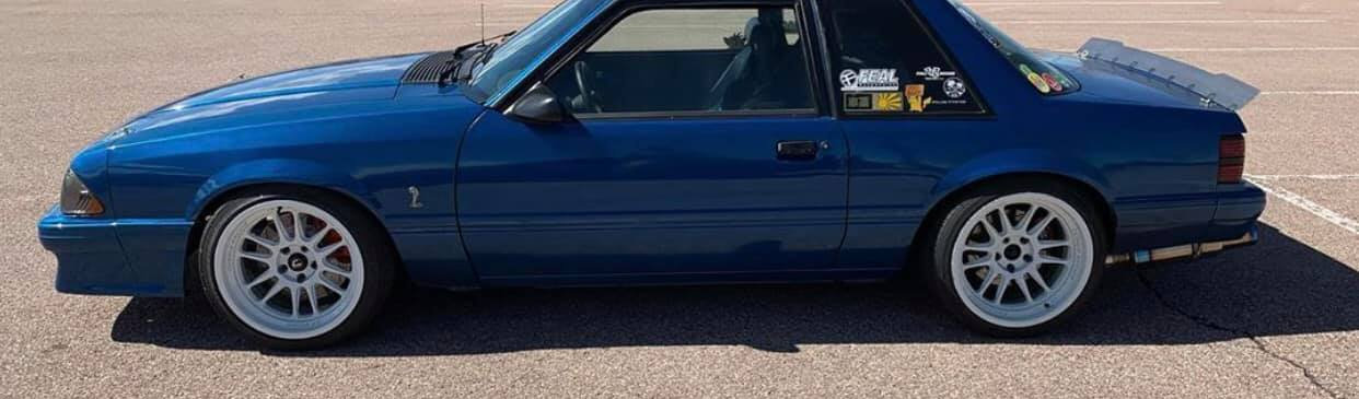 79-93 Mustang Coupe/Convertible Center Cut Ducktail Spoiler (Welded Version)