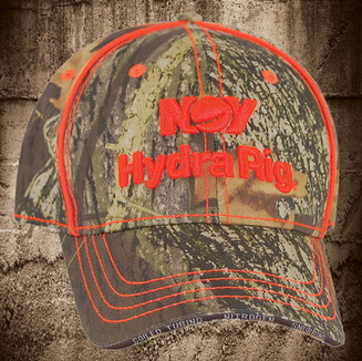 TRADITIONAL CAMO WITH NEON ORANGE PIPING