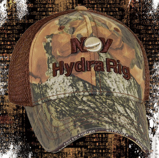 TRADITIONAL CAMO AND BROWN SANDWICH MESH