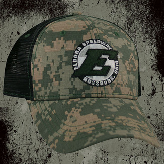 GREEN/TAN DIGI CAMO/BLACK TRUCKER