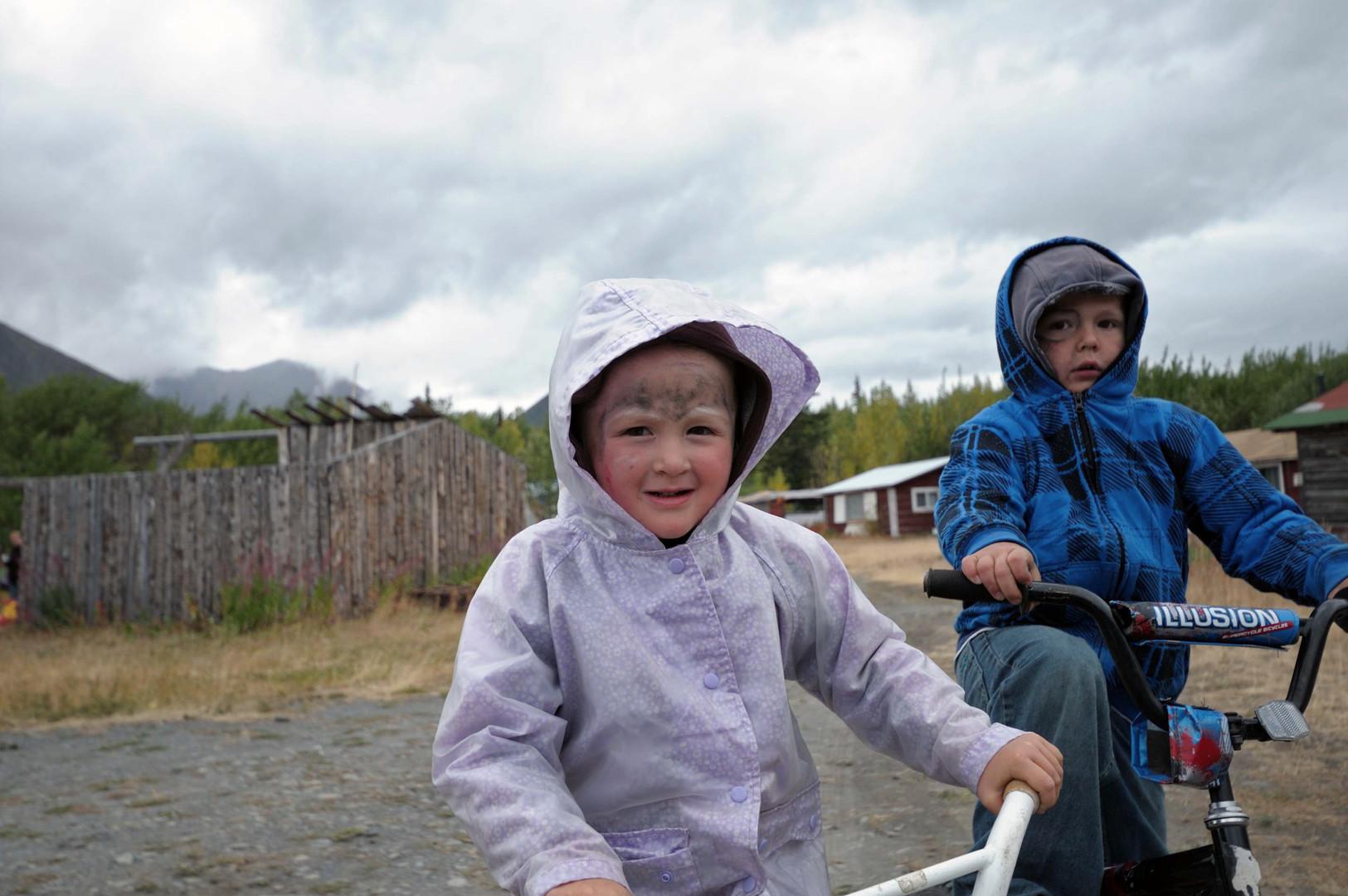 Native Fishing Camp/Yukon