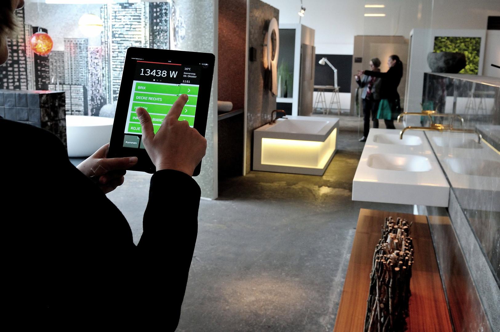 Digital Strom Lighting App Image Kampagne
