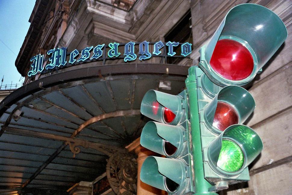 Rome Streetlight