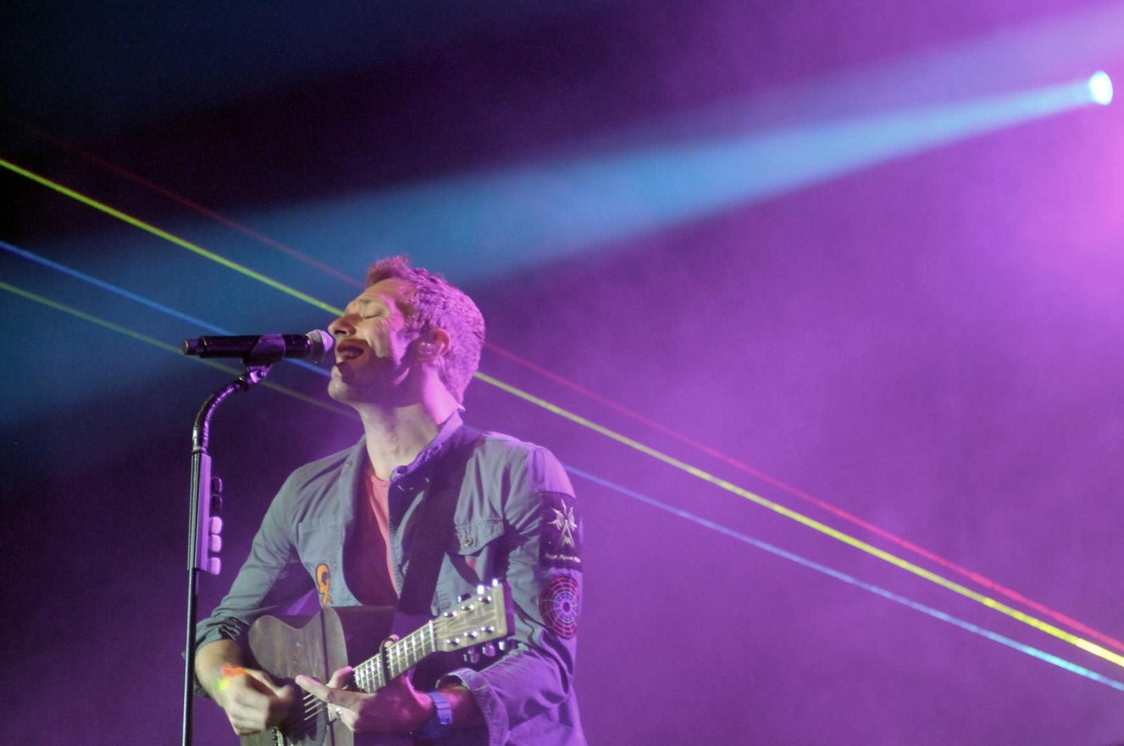 Coldplay/1Live Radio Konzert