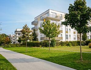 New apartment building - modern resident