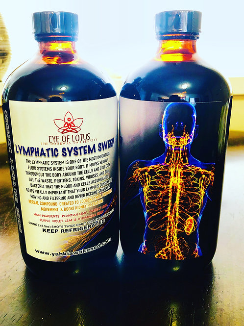Lymphatic System Sweep Tonic  16oz