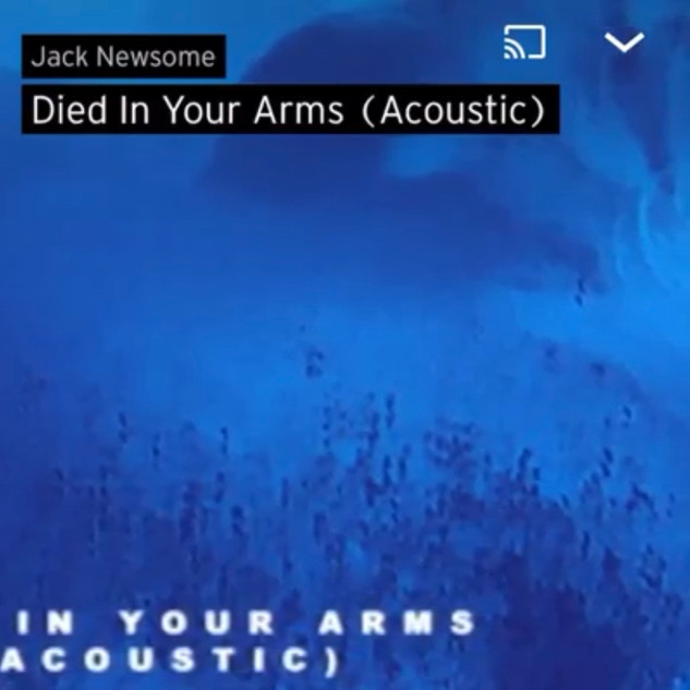 Died in Your Arms - Jack Newsome