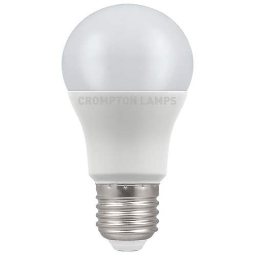 Crompton LED GLS Thermal Plastic 5.5W 2700K ES-E27