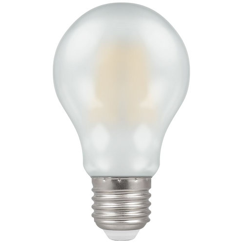Crompton LED GLS Filament Pearl Dimmable 7.5W 2700K ES-E27