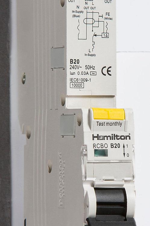 Hamilton 10 Amp Type B RCBO