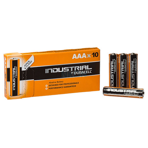 Duracell Industrial AAA Pack 10