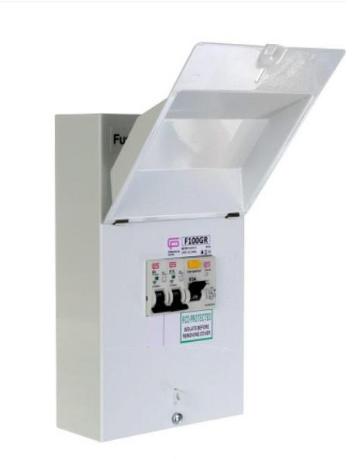 Fusebox F100GR Garage Unit
