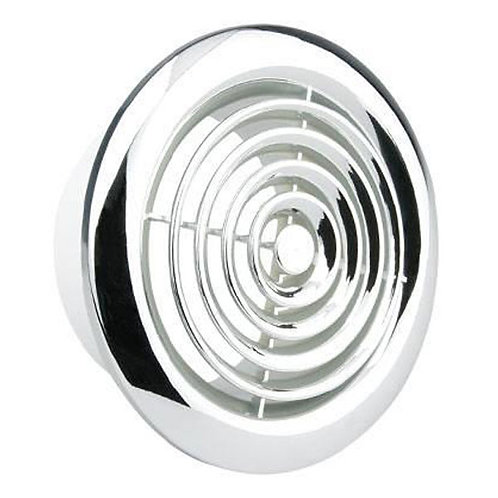 Air Vent Chrome 4 Inch Circular Grille