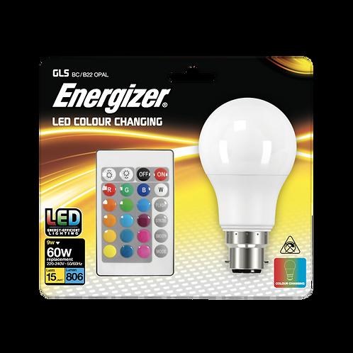 Energizer 9w BC Remote RGB Lamp