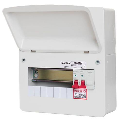 Fusebox F2007M 7 Way Main Switch Board