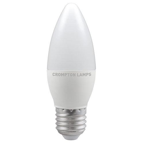 Crompton LED Candle Thermal Plastic 5.5W 2700K ES-E27