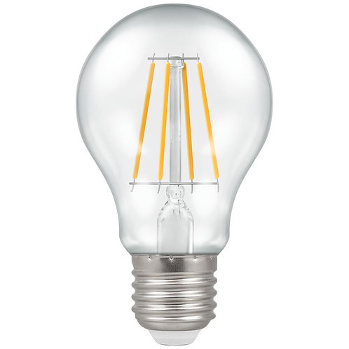 Crompton LED GLS Filament Clear Dimmable 7.5W 2700K ES-E27