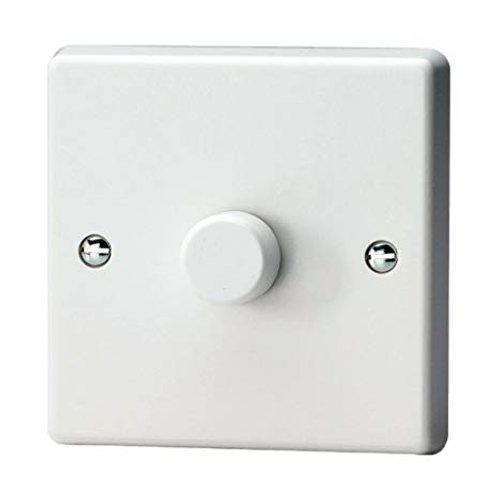Varilight LED 1 Gang Dimmer White