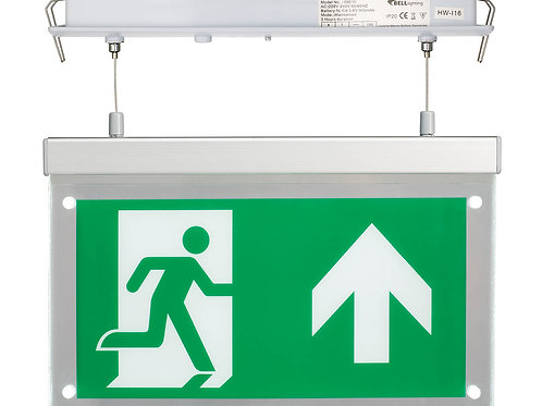 Bell Emergency Recessed Exit Sign