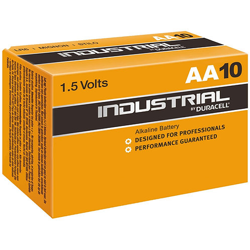 Duracell Industrial AA Pack 10