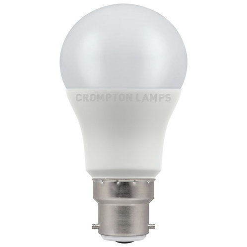 Crompton LED GLS Thermal Plastic 5.5W 2700K BC-B22d