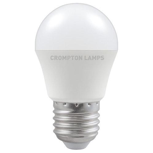 Crompton LED Round Thermal Plastic 5.5W 2700K ES-E27