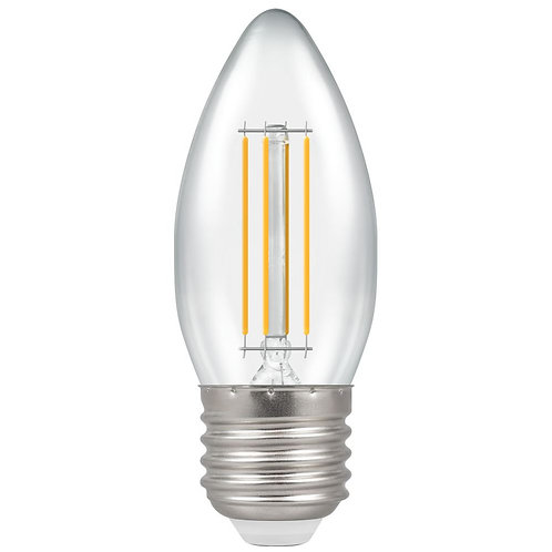 Crompton LED Candle Filament Clear Dimmable 5W 2700K ES-E27