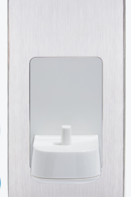 Proof Vision Single Toothbrush Charger Brushed Steel