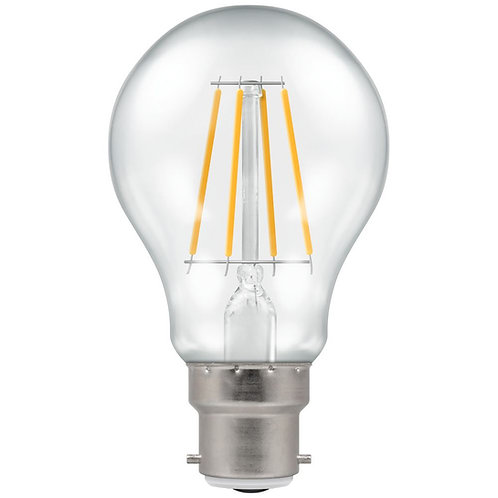 Crompton LED GLS Filament Clear Dimmable 7.5W 2700K BC-B22d